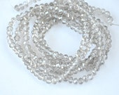 crystal bright white 1 strand  jewelery making materials