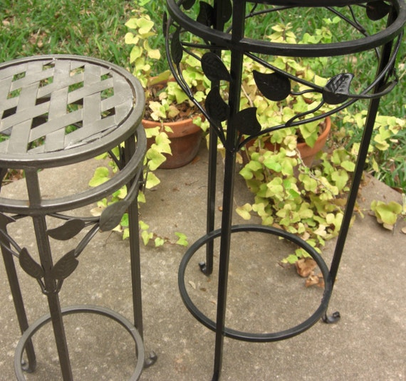Mexican Wrought Iron Plant Stands