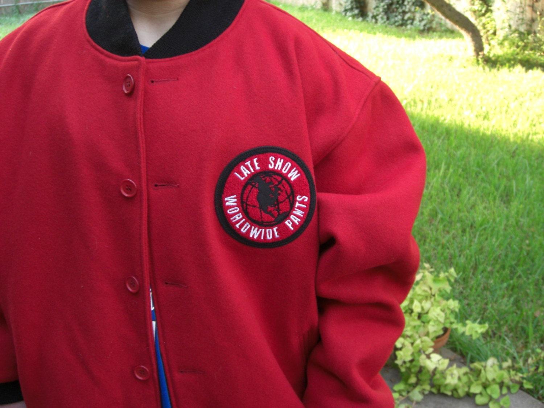 David Letterman Varsity Jacket Worldwide Pants The Late