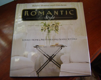 Book Romantic Style Decorating Book  large reference book home decor coffee table book