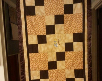 Giraffe Baby/Toddler Quilt
