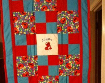 Elmo quilt | Etsy : elmo quilt - Adamdwight.com