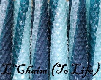 Shabbat/Tapers Sabbath Candles - L'Chaim (To Life)