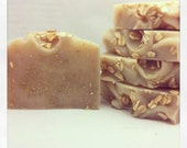 Cold Process Goat Milk Soap - Oatmeal, Milk and Honey Cruelty FREE