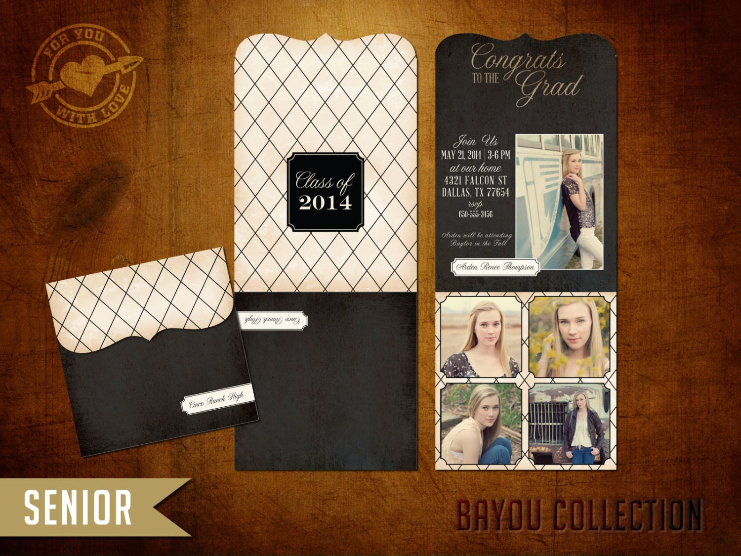 Tri Fold Graduation Invitations is the best ideas you have to choose for invitation example