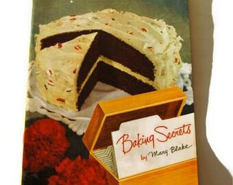 Vintage 1953 Baking Secrets By Mary Blake Carnation Milk Advertising Cookbook Booklet