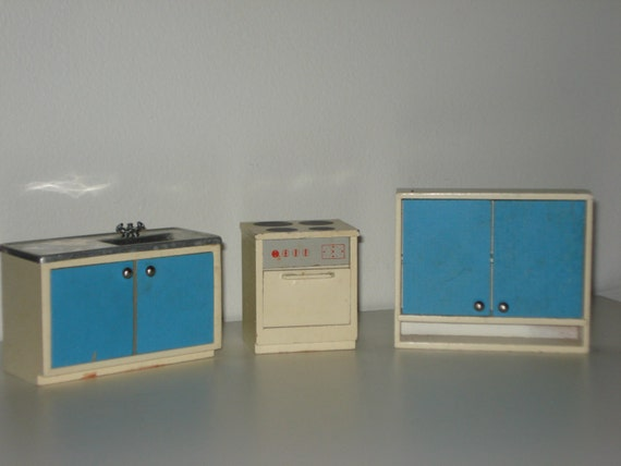 Vintage dollhouse furniture miniature by ladybumblevintage for Affordable furniture redcar