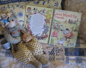 FREE USA SHIPPING / Lion's Mixed Up Friends. Little Golden Book 1987