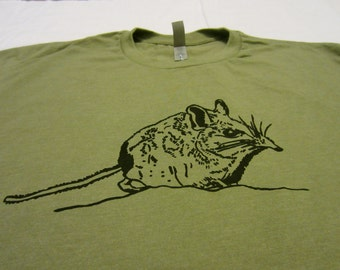 Cute Animal Tshirt | Animal Print of Elephant Shrew