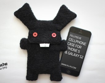 Fluffy Cellphone Case for iPhone 5 & SE - Fellfische - Bad Bunny