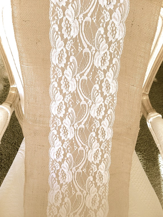 Reserved listing for Nicole Mccormick White Lace Runners