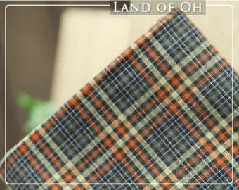 Britain Checker Prewashed Cotton 23 Types 012 per Yard 26177