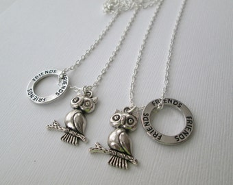 Puffy Owl and Friends, BFF Necklaces