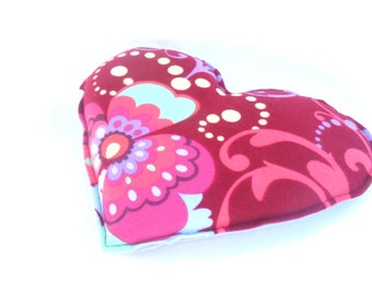 Heart Warming Heating Pad, Amy Butler Love Flannel Aromatherapy Neck Heating Pack