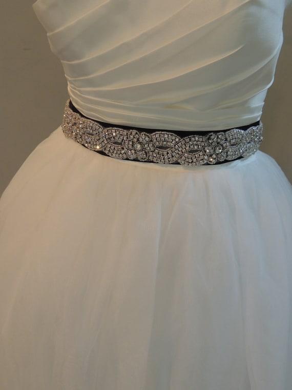 Items Similar To Wedding Dress Bridal Sash Belt Mint