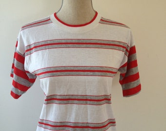 Vintage RUSTLER Striped Tshirt
