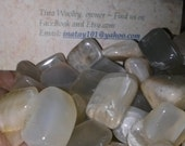 Tumbled med/lg Moonstones. Set of 5 Moonstones and these are beautiful stones