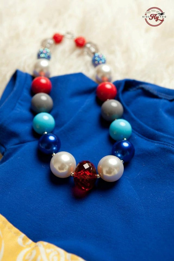 London Girls Chunky Necklace M2M Kid's Fly Too