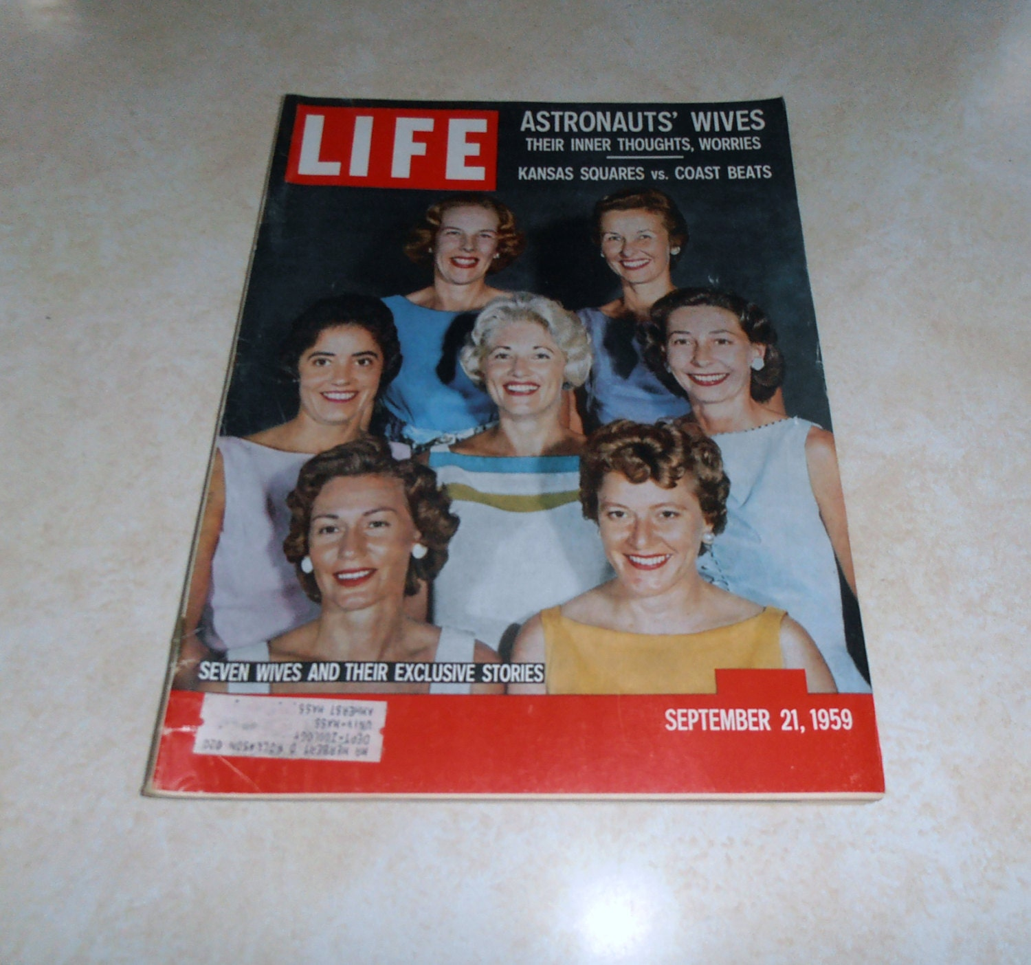 life magazine mercury astronauts wives - photo #14