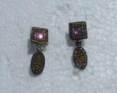 MICHAL NEGRIN earrings made in ISRAEL circa 1980's