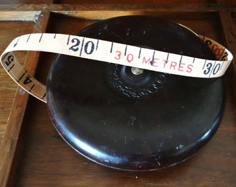 Vintage tape measure, Tricle, bakelite, People's Republic of China