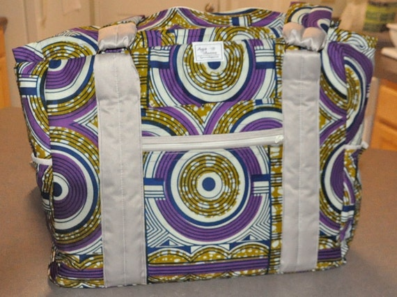 items similar to african print diaper bag on etsy. Black Bedroom Furniture Sets. Home Design Ideas