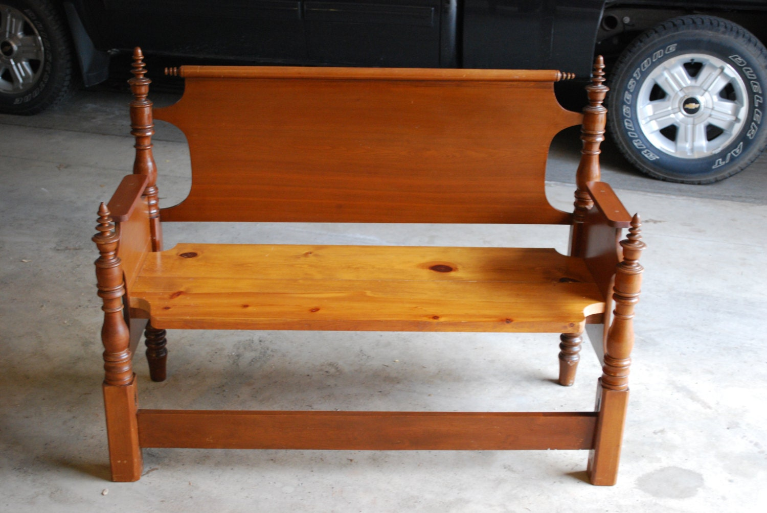 Price Reduced 100 Dollars Beautiful Bench Made From By