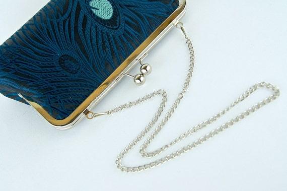 Chain Handle, Silk Lining, Fabric Samples
