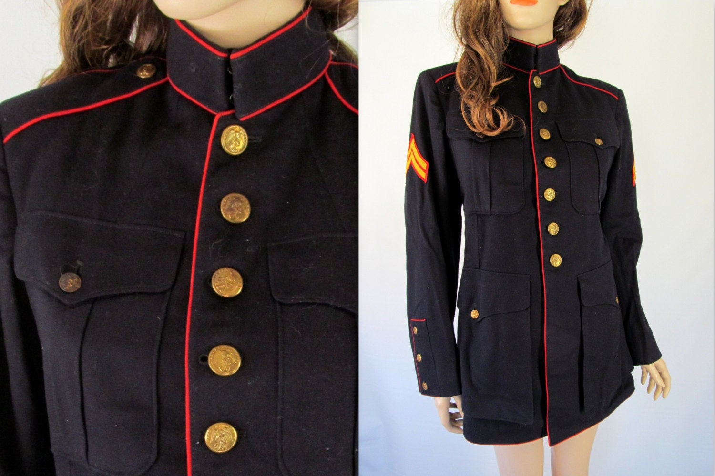 Vintage Military Jacket WW 2 / World War 2 Jacket / 1940's