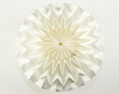 BUBBLE: Hanging Decor Origami Paper Ball - White / FiberStore by Fiber Lab
