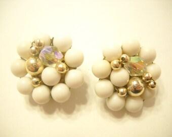 Vintage Clip Earrings (4429) Japan