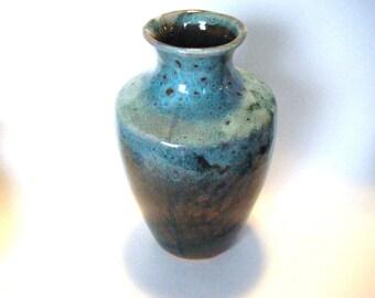Fabulous Mid Century Art Pottery Vase Signed By Artist