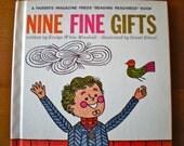 SALE Vintage Nine Fine Gifts 60's Children's Book