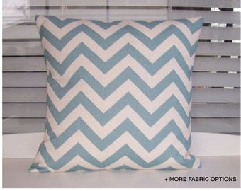"""Zig Zag - pillow cover 16"""" or 18"""" Multiple color options"""