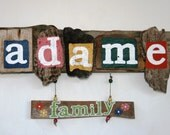 RESERVED Personalized Gift Ideas: Family Names, Addresses, Baby's Names, Holiday Gifts, Family vacation home.
