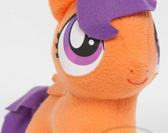 CHIBI Scootaloo MLP Hand-Made Custom Craft Plush