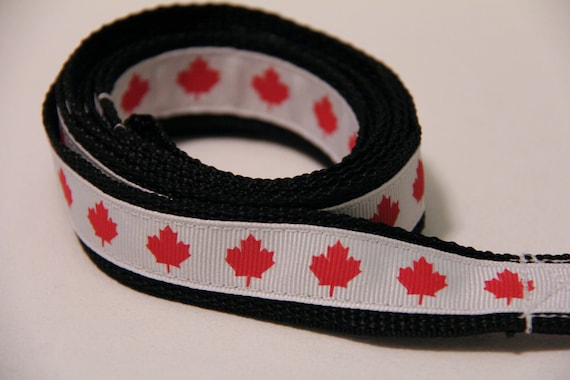 Canada Dog Leash, Oh Canada Dog Leash, Dog Leash, Maple Leaf Dog Leash, Olympics, Rio 2016