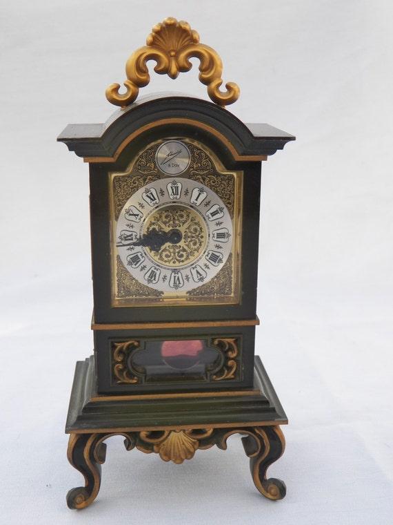 Schmid Schlenker Clock Miniature Mantle Pendulum German
