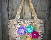 Colorful Shabby Chic Purse
