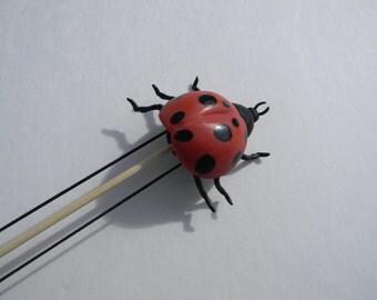 Lady Bug Double Pointed Needle Holder