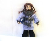 Ori Dwarf Crochet Doll Tolkien The Hobbit