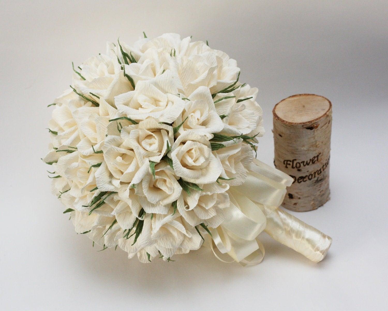 Wedding bouquets paper flower bouquet bridal bouquet for Wedding bouquets