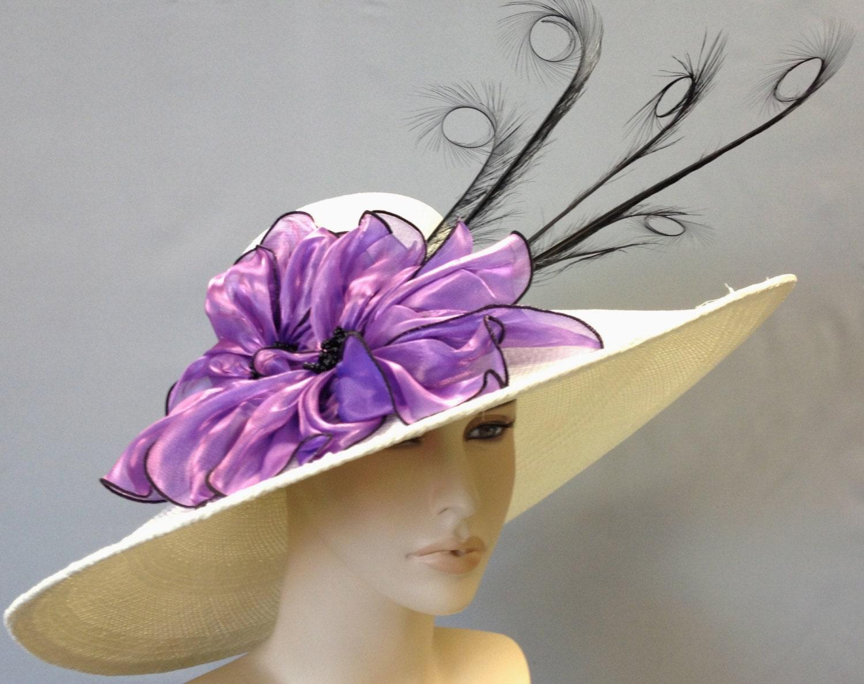 wide brim kentucky derby hat white straw s hat