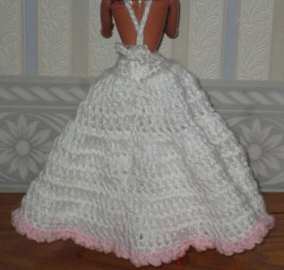 Vintage Wedding Dresses Omaha Ne: Crochet African American Victorian Doll Dress By