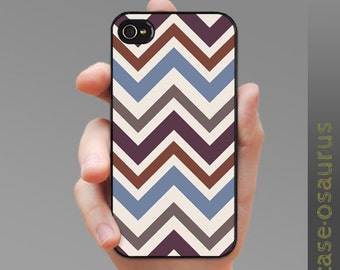"iPhone Case - Chevron ""Tawny Peanut"" for iPhone 6, iPhone 5/5s or iPhone 4/4s, Samsung Galaxy S6, Galaxy S5, Galaxy S4, Galaxy S3"