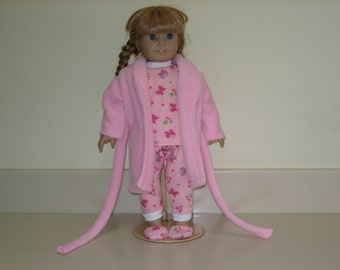 American girl doll Robe and Pajamas