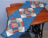 Stairway to Heaven Quilted Table Runner PDF Pattern