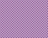Small Tone on Tone Dots Lavender :  Riley Blake Designs Cotton Basics 1/2 Yard
