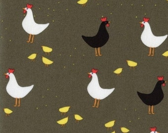 Chickens 1 Yard Cut