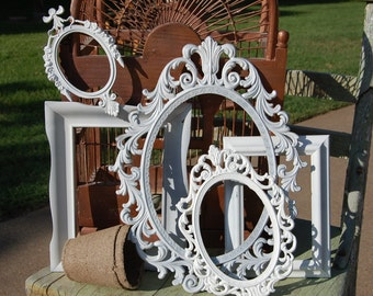 Shabby Chic Picture Frame Set - PICTURE FRAMES - Vintage Picture Frames